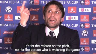 Antonio Conte Lashes Out At VAR After Chelsea 'Denied Penalty'