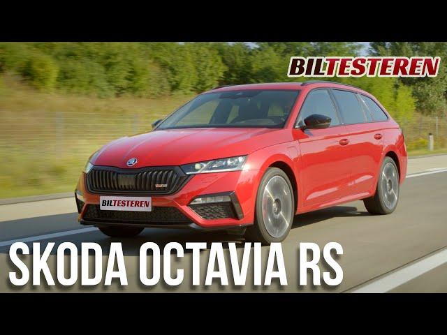 WHAT!? Octavia RS som plug-in hybrid(præsentation)