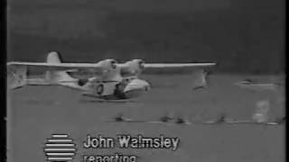 Catalina flying boat crash in Plymouth Sound (BBC)