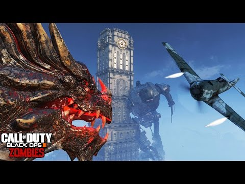 BATTLE IN GOROD KROVI!  OUTSIDE THE MAP EXPLORATION! (Black Ops 3 Zombies No-Clip)