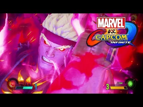 SASUI NO HADO UNLEASHED! Marvel VS Capcom Infinite Online  