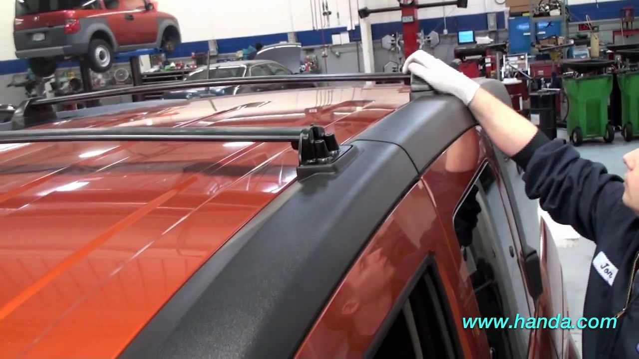 Honda Element Roof Rack Installation (Honda Answers #59)   YouTube