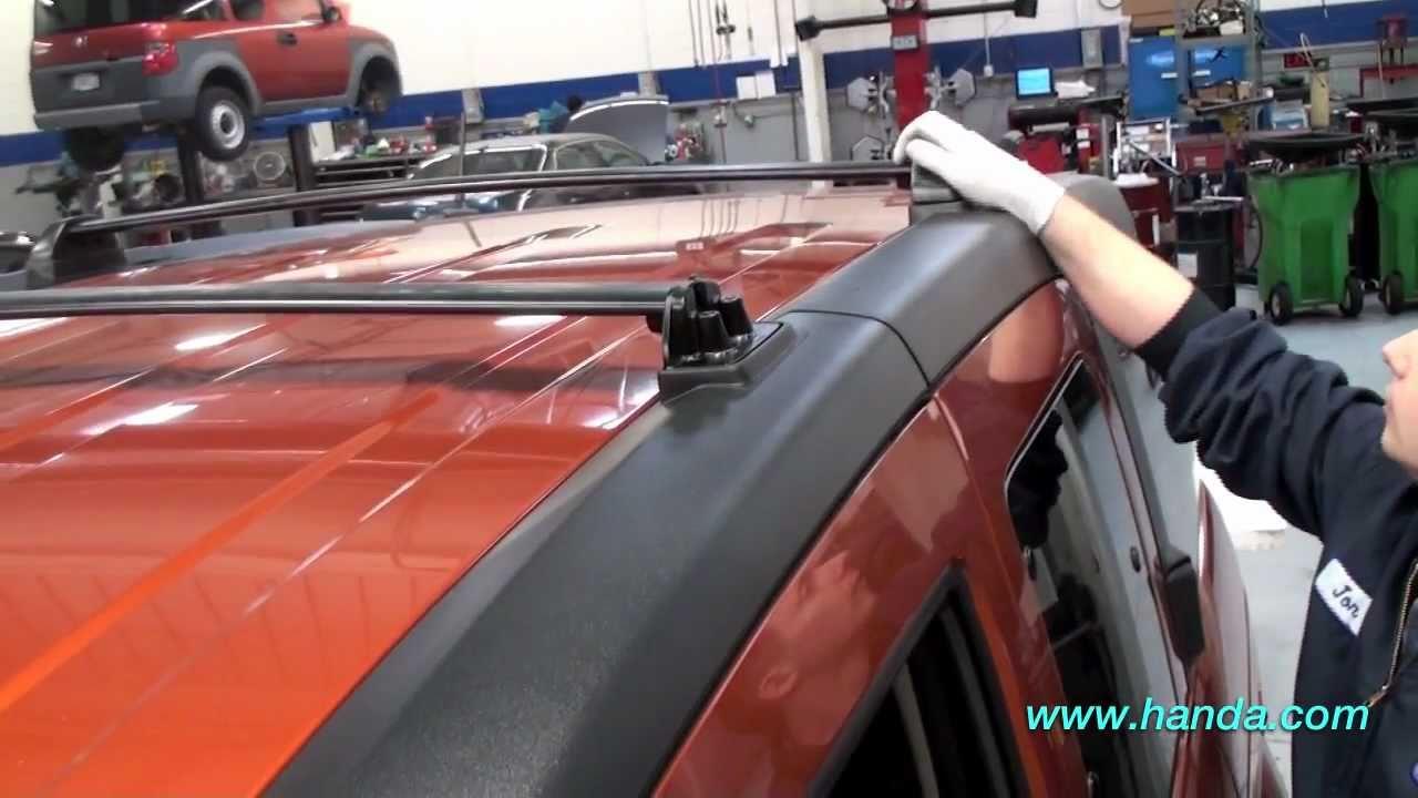 Honda Element Roof Rack Installation (Honda Answers #59 ...