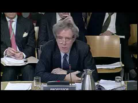 Scottish Parliament : Law Professor Alan Paterson Gives Evidence On Legal Services Bill Part 2