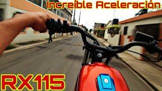 Probando Yamaha Rx115 , Calibro ,Increíble , Aceleración Brutal 😱 |Anderson Acevedo