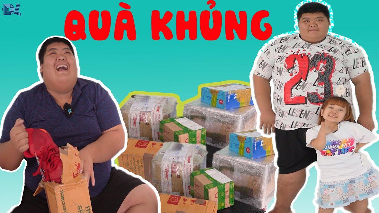 Khán giả gửi cả núi quà xịn xò cho Bình Sumo và Út Mini