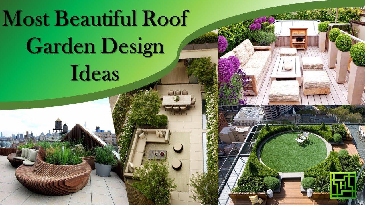 Most Beautiful Roof Garden Design Ideas