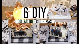 🎄6 DIY DOLLAR TREE CHRISTMAS CRAFTS 🎄 DECO MESH CENTERPIECE