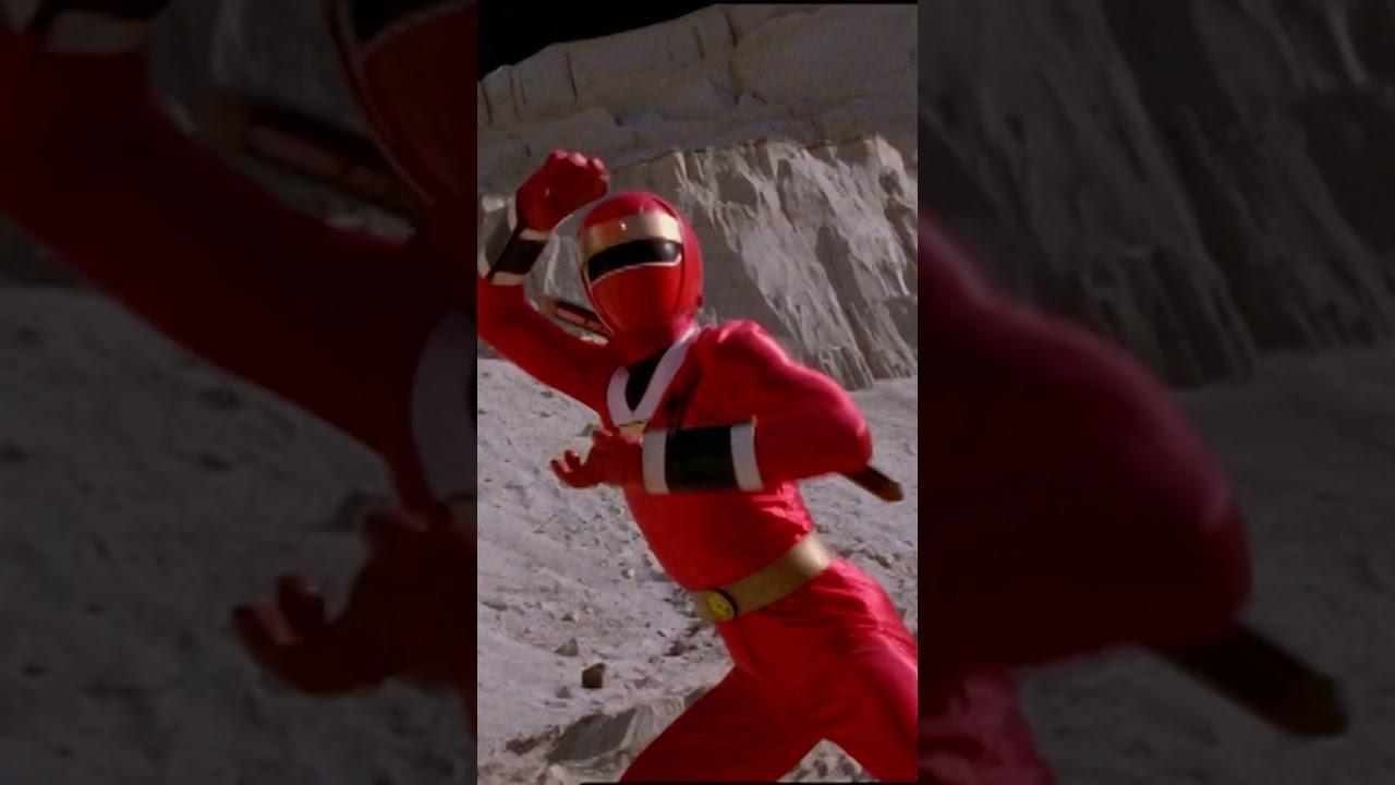 Red Aquitar Ranger Morph | 10 Red Ranger Battle | Power Rangers Wild Force | Power Rangers Official