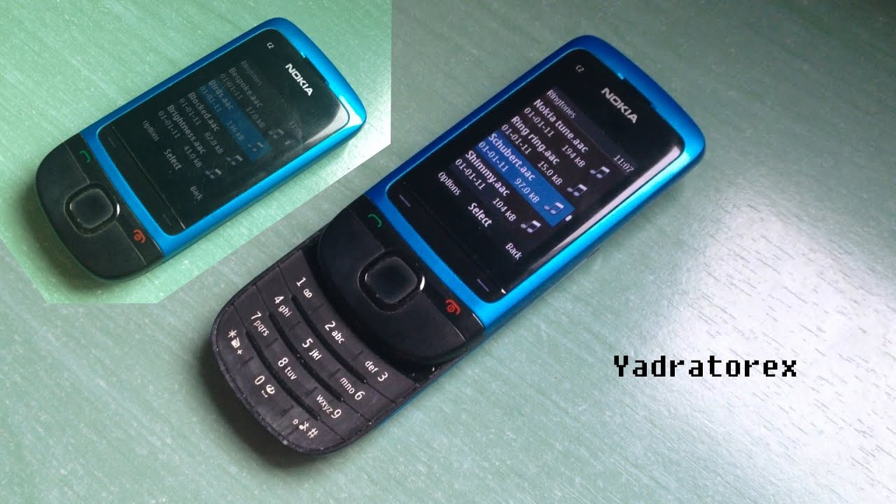 Nokia C2 05 Review Ringtones Themes Wallpapers Youtube