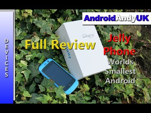 Jelly (Worlds Smallest 4G Smartphone) Full Honest Review