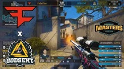 Bymas FIRST GAME FOR FaZe! FaZe vs GODSENT - DreamHack Masters - HIGHLIGHTS | CSGO