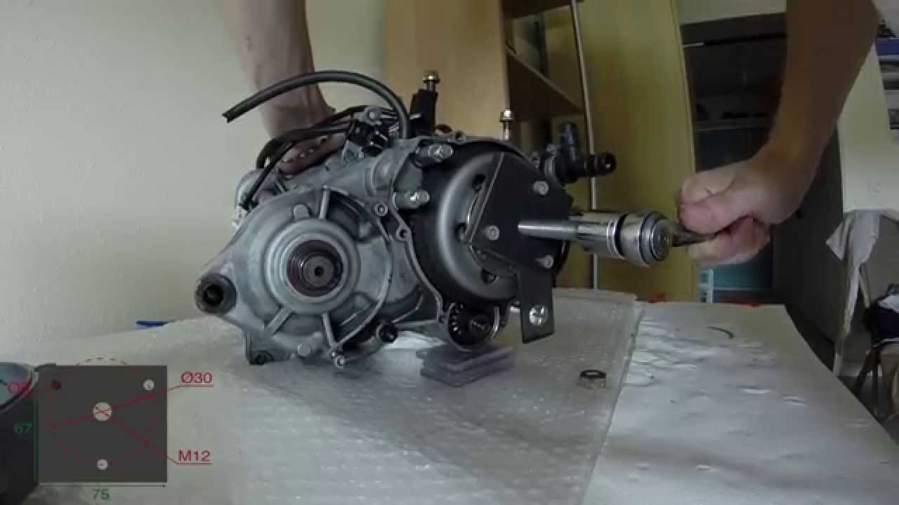 Aprilia Rs Rotax 122 Flywheel Magneto Removal Youtube