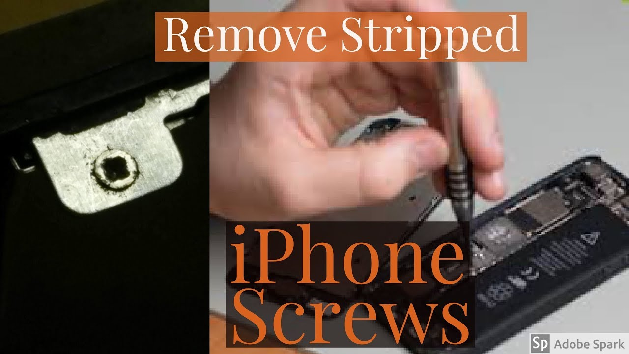how to unscrew iphone 4 without screwdriver