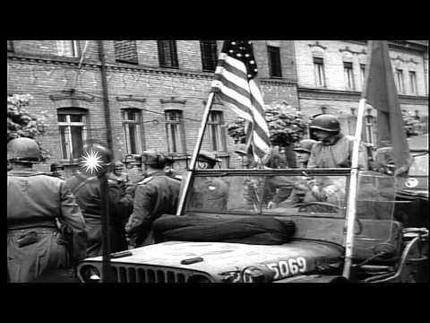 Russian General Suhonov being welcomed by United States Army Major General Terry ...HD Stock Footage