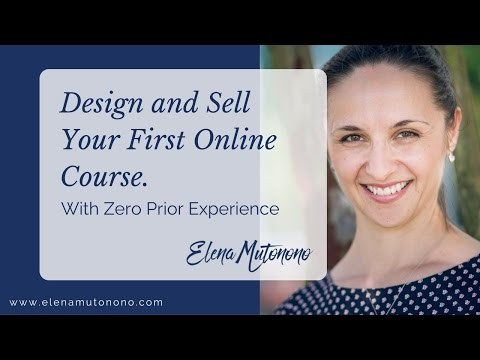 Design and Sell your First Online Course
