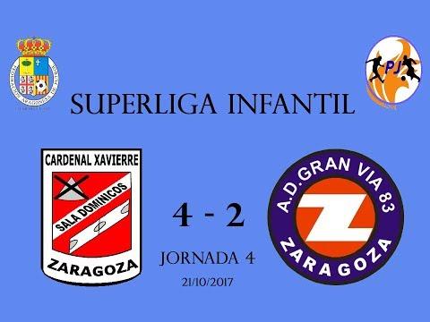 Sala Dominicos vs Gran Vía 83 4-2 / J4 / Superliga Infantil / PORTERO JUGADOR - FUTSAL BASE