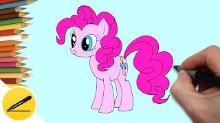 Как Нарисовать Пони Пинки Пай поэтапно | Рисуем Пони | Картинки Пинки Пай своими руками