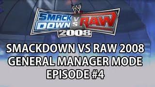Smackdown vs Raw '08 GM Mode - #4 Main Event Four Way thumbnail