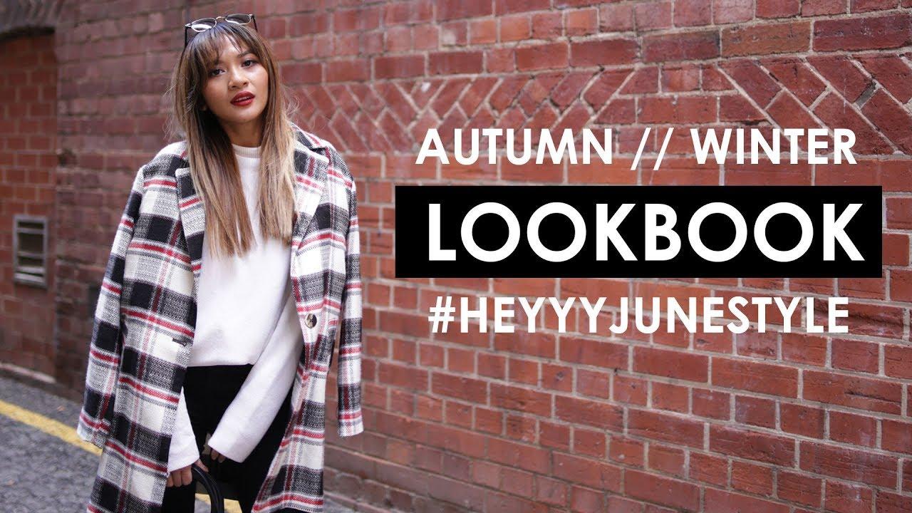 AUTUMN WINTER LOOKBOOK 2017 | Outfit Ideas 1