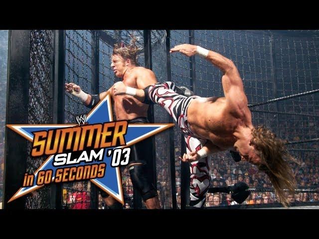 SummerSlam in 60 Seconds: SummerSlam 2003