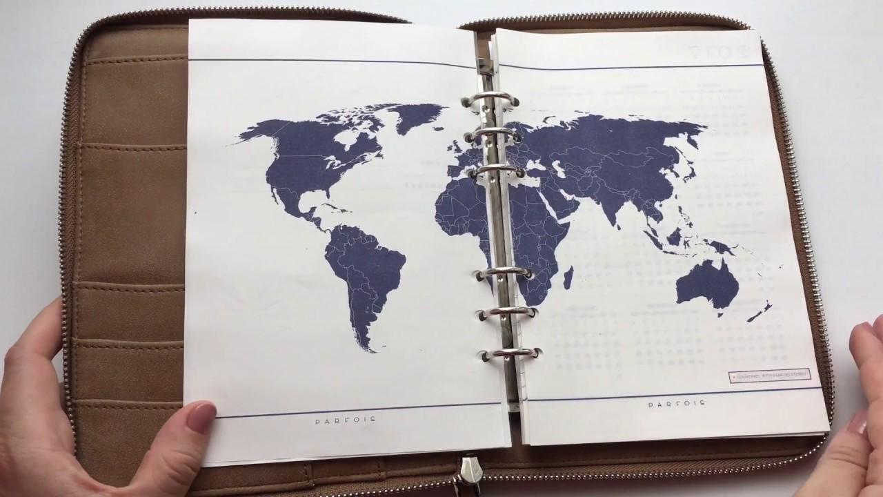 Купить ежедневник и планер на кольцах - YouTube