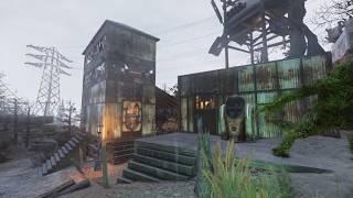 Fallout 76 - Dirty Basturd's Settlement (camp tour)