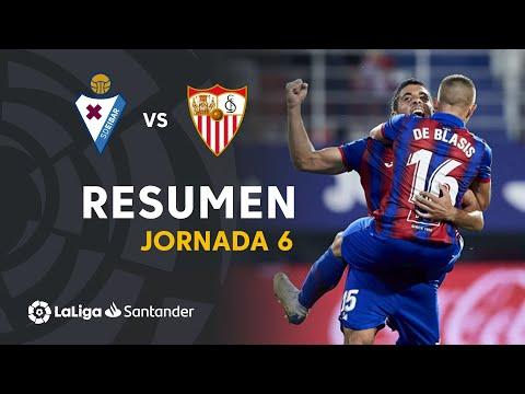 Resumen de SD Eibar vs Sevilla FC (3-2)