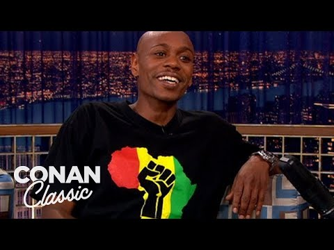 """Dave Chappelle Explains Why """"Planet Of The Apes"""" Is Racist - """"Late Night With Conan O'Brien"""""""