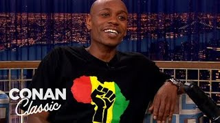 "Dave Chappelle Explains Why ""Planet Of The Apes"" Is Racist - ""Late Night With Conan O'Brien"""