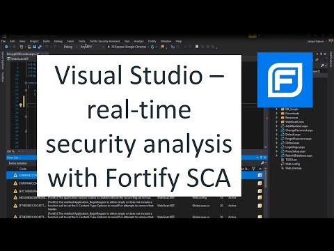 visual-studio---real-time-security-with-fortify-security-assistant-(2018)