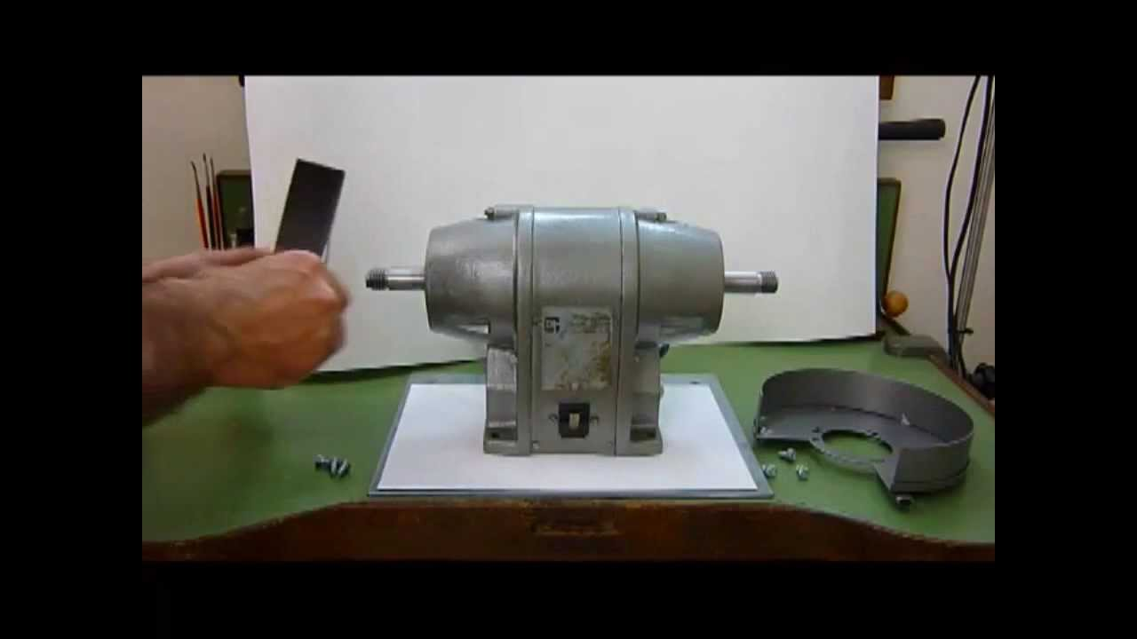Repairing A Bench Grinder Part 1 Youtube