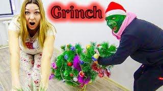 Ирина и ГРИНЧ ОДНИ ДОМА! Кто за мной СЛЕДИТ | The Grinch