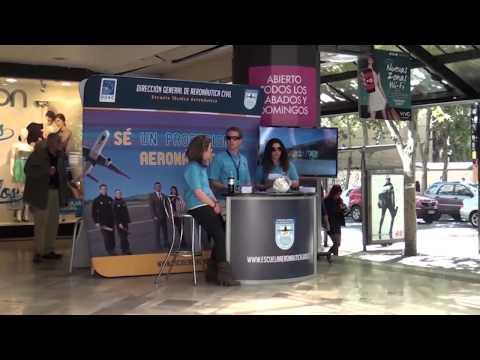 Muestra DGAC En El Mall VIVO Panorámico
