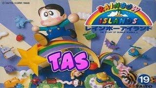 コメ付き TAS レインボーアイランド ファミコン
