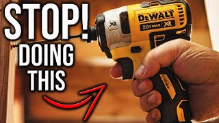 Do You Really Need To Pre Drill Your Holes? STOP DOING THIS