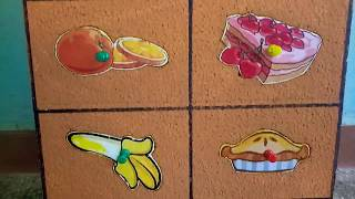 School Project - Matching Board for Healthy and Unhealthy Food Model