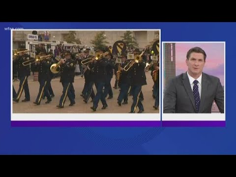 Dallas Veterans Day parade canceled due to weather