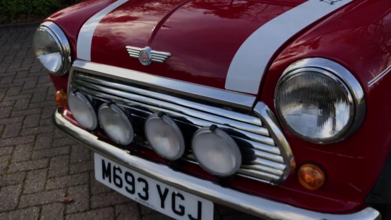 Mini Cooper Classic Red 13 Spi Youtube