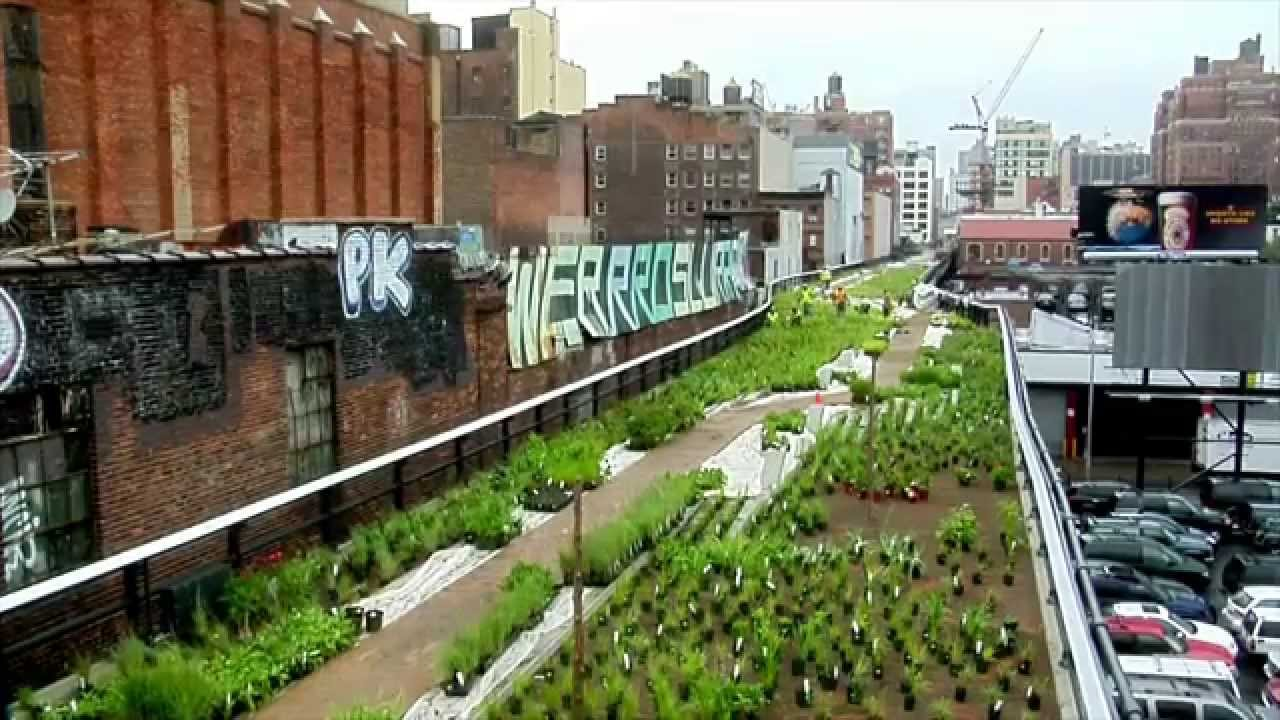 Lovely Great Museums: Elevated Thinking: The High Line In New York City   YouTube
