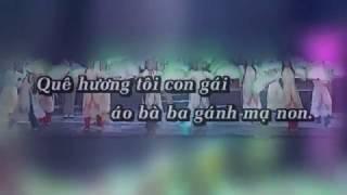 Karaoke Bài Ngợi Ca Quê Hương, Phi Nhung