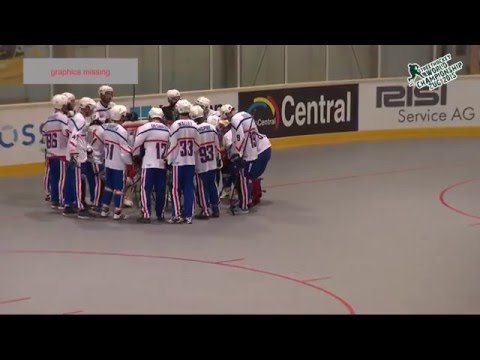 France vs Cayman Islands 2015 World Ball Hockey Championships June 20 2015 in Zug, Switzerland