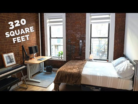 NYC Apartment Tour 2019 | Full-Time YouTuber/Blogger's Studio