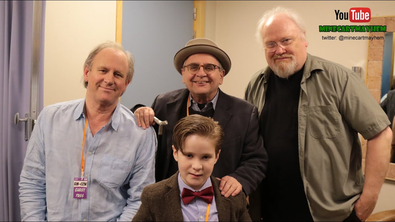 the 4 ish doctors exclusive interview sylvester mccoy the 4 ish doctors exclusive interview sylvester mccoy colin baker and peter davison