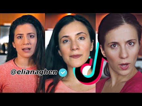 Eliana Ghen Tiktok Acting Challenge Compilation