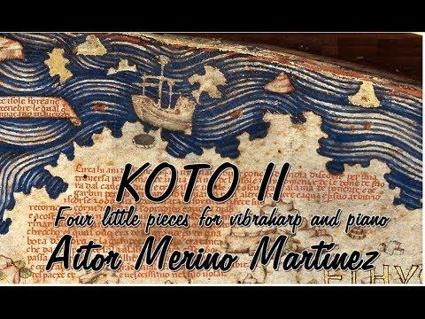 """Aitor Merino Martínez - """"Koto II"""", Op.93"""