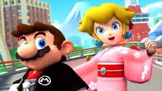 Mario Kart Tour - Kimono Peach & Hakama Mario Unlocked + Gameplay