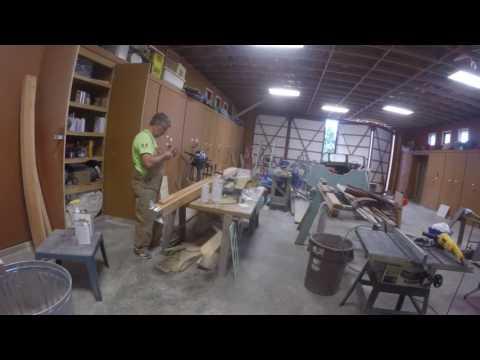 Little Bear Westsail 32 refit: Anchor roller time Vlog #79