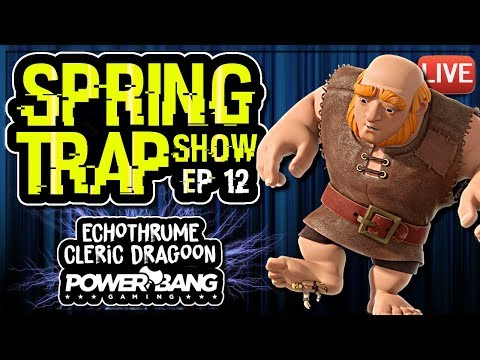 POWERBANG ANSWERS CLASH and BRAWL STARS QUESTIONS | SPRING TRAP SHOW ep 12 | Clash of Clans