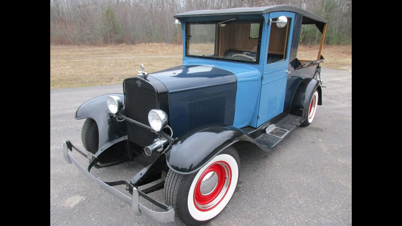 1929 Chevrolet Huckster Truck For Sale Or Trade Motorland